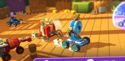 玩具车碰撞