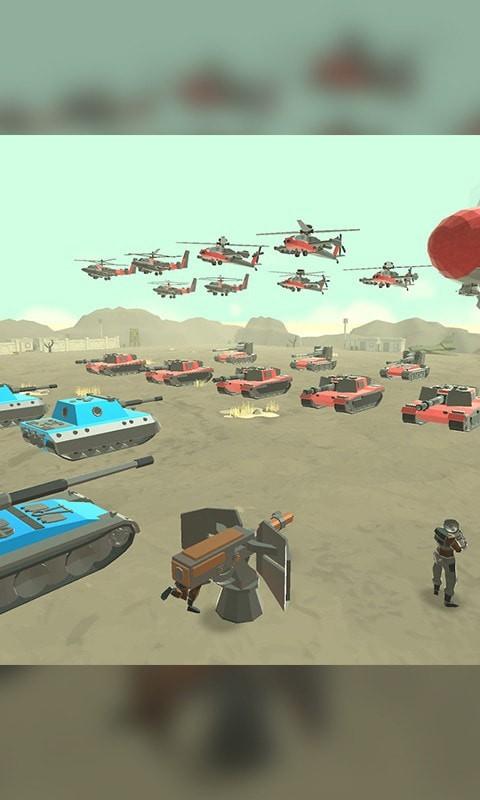 战场特种兵团模拟器